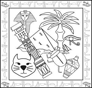 Egipt kolorowanka 2 b (1)